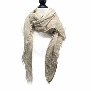 Kismet bootlegger neutral Creme knit scarf